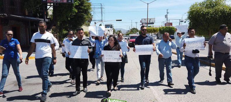PERIODISTAS DE GUAMÚCHIL PIDEN JUSTICIA POR ASESINATO DE OMAR CAMACHO