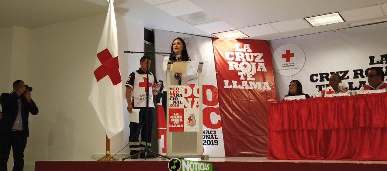 COMPROMETEN AYUNTAMIENTO Y FUNCIONARIOS DONAR 200 MIL PESOS A CRUZ ROJA
