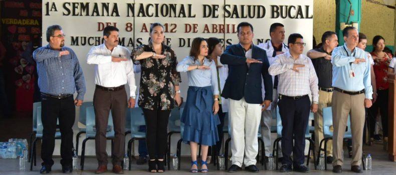 INICIA LA SEMANA NACIONAL DE SALUD BUCAL