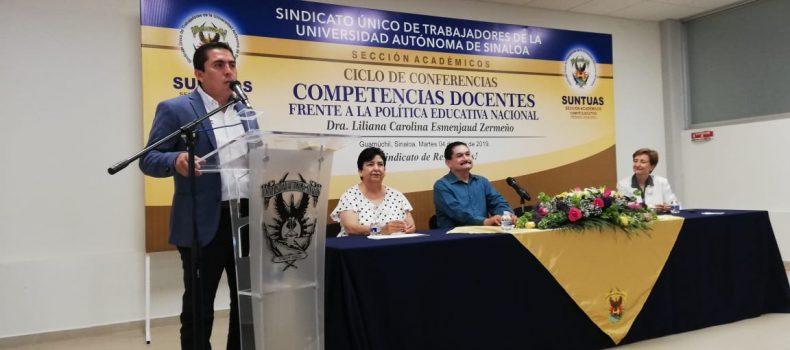 REITERA SUNTUAS-ACADEMICOS SU DEFENSA A LA AUTONOMÍA UNIVERSITARIA