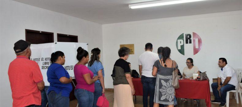 ELECCIÓN DE DIRIGENCIA DEL PRI FUE UN PROCESO SERIO: PALAFOX