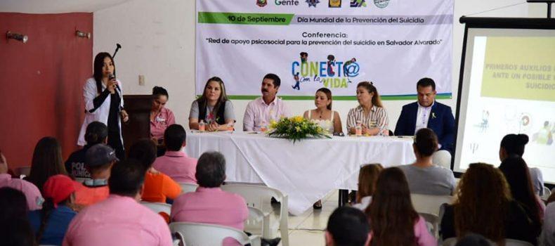 Busca gobierno municipal concientizar en el Día Mundial para la Prevención del Suicidio