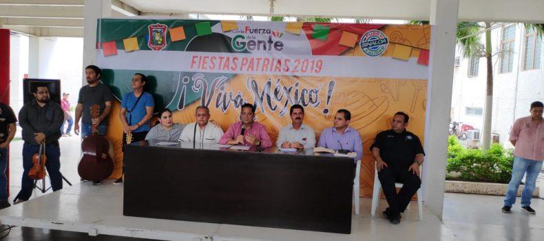 AUSTERIDAD EN FESTEJOS PATRIOS; GASTARAN 210 MIL PESOS