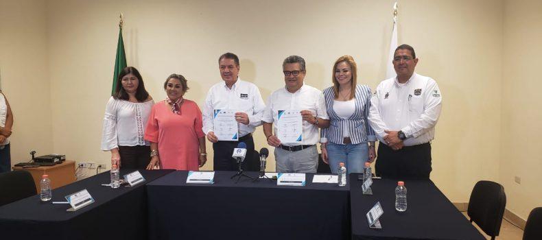 CEDH Y SESESP FIRMAN CONVENIO DE COLABORACIÓN