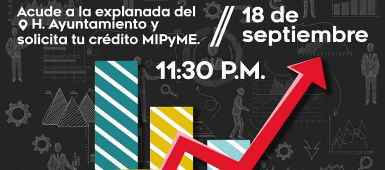 MIPyMES podrán acceder a microcréditos este 18 de septiembre