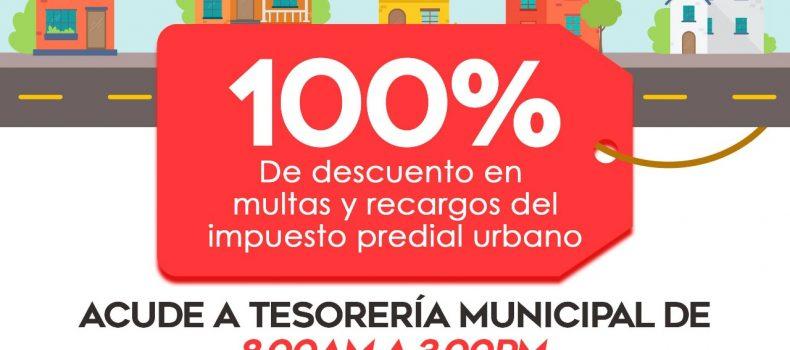 Lanzará Tesorería Municipal promoción del mes patrio a morosos del predial
