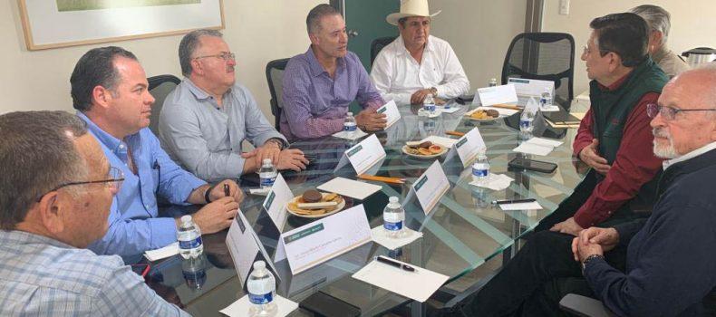 Quirino y líderes agrícolas, se reúnen con titular de SEGALMEX