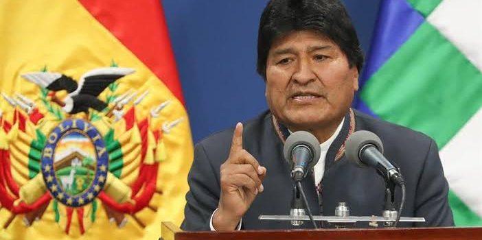 MÉXICO LE CONCEDE ASILO POLÍTICO A EVO MORALES Y EL EX PRESIDENTE LO ACEPTA