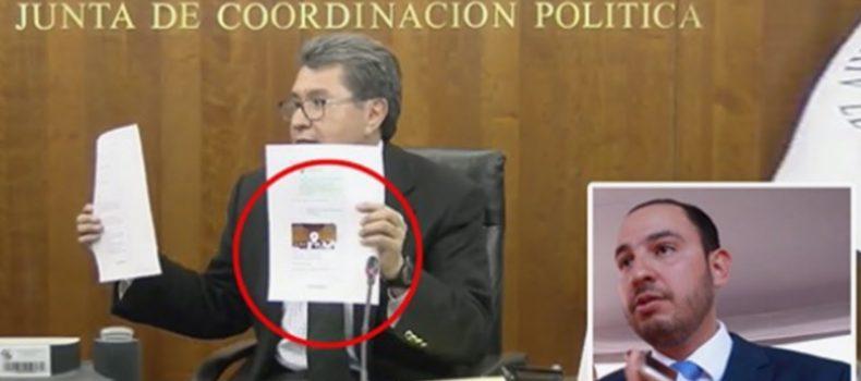 Exhíben chat de Marko Cortés en donde ordena que «hagan un desmadre en el Senado; y pedazos a Monreal» durante la votación de CNDH; Monreal difunde capturas de What'sApp