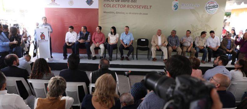 Anuncian la rehabilitación de la Camarón Sábalo, en la Zona Dorada de Mazatlán