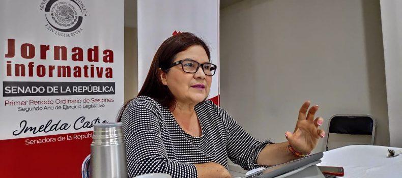 EN PLENARIA MORENA ANALIZARÁ EL CASO DE DATOS BIOMÉTRICOS: IMELDA CASTRO
