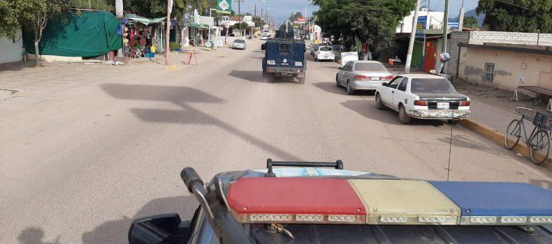 Continúan permanentes los operativos de seguridad en Guamúchil: SSP Sinaloa