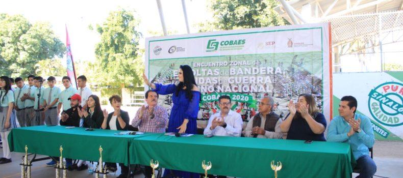Angostura es sede de concurso de escoltas de COBAES