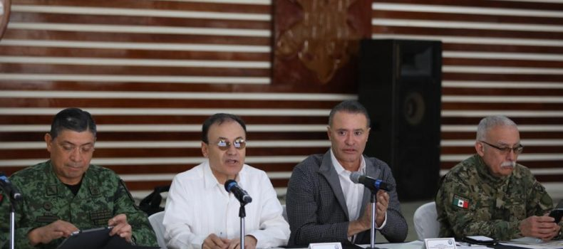 Sinaloa va en el camino adecuado en materia de seguridad: Alfonso Durazo