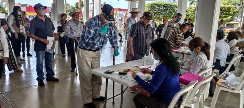 INICIA PAGO ANTICIPADO A ADULTOS MAYORES CON MEDIDAS PREVENTIVAS POR COVID-19