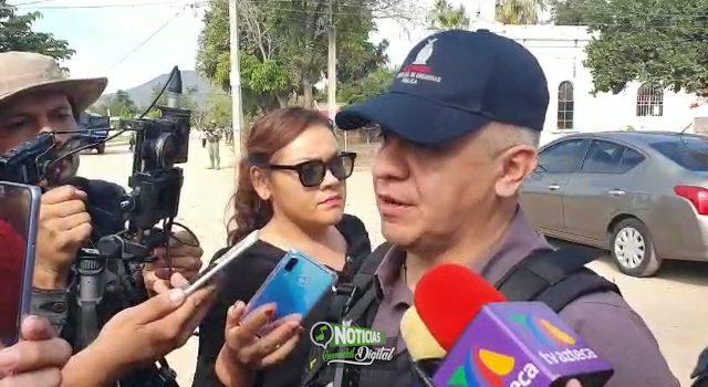 Autoridades despliegan operativos en la zona norte de Culiacán