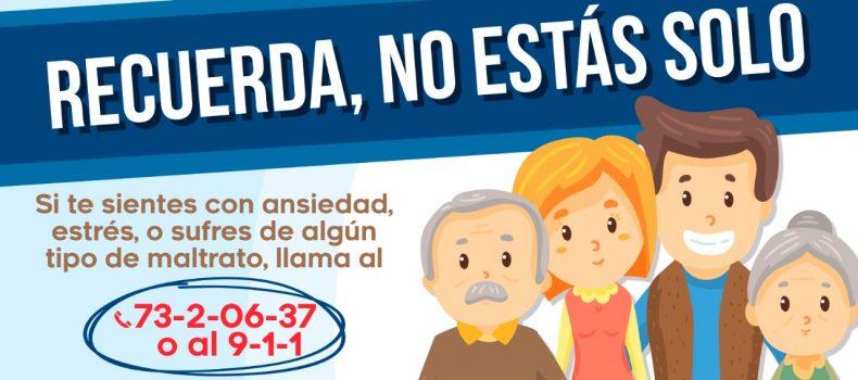 Lanzan Call Center para ayuda psicológica en Salvador Alvarado