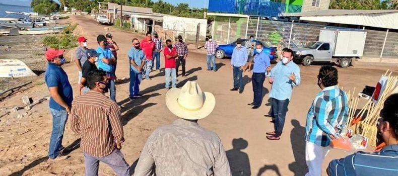 Inicia pago del Programa Estatal de Empleo Temporal para Pescadores: Sergio Torres