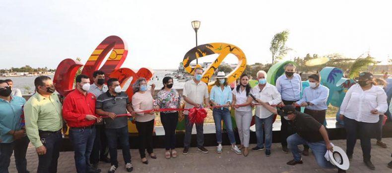 *Quirino inaugura el parque recreativo de La Reforma, Angostura*