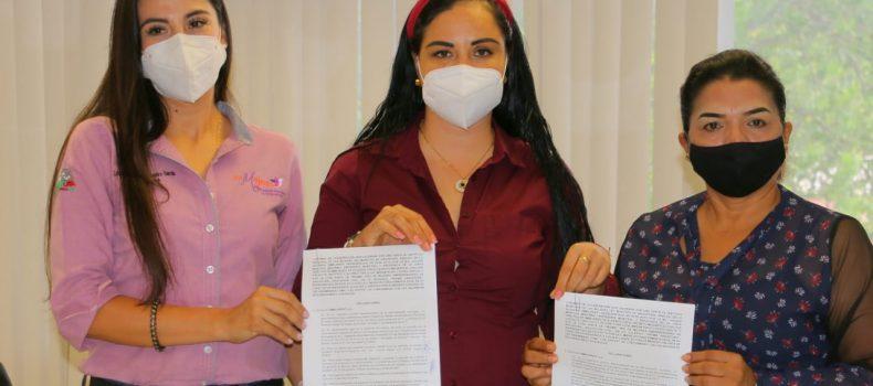 Firman convenio de colaboración entre IMMUJER y REDMA A.C