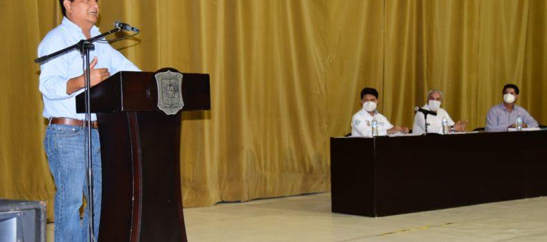Integran el Consejo Municipal de Ordenamiento Territorial y Vivienda  en Salvador Alvarado