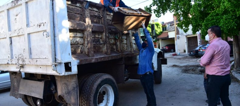 Recolectan 79 toneladas durante las Jornadas de Descacharrización
