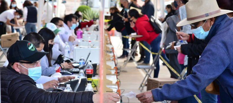 jornadas de Apoyo Puro Sinaloa llegan a Salvador Alvarado con nueva logística ajustada a los protocolos de salud