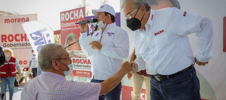 Asegura Rocha Moya que en su administración la educación y cultura serán prioridad.