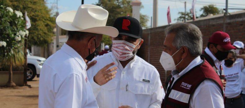 A Sinaloa le ira bien porque candidatos de la cuarta transformación lo ven como familia.