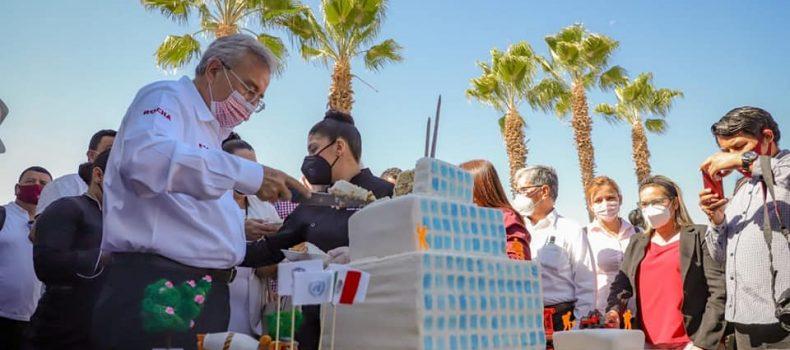 Propone Rocha Moya una planeación a largo plazo en materia de obra pública.