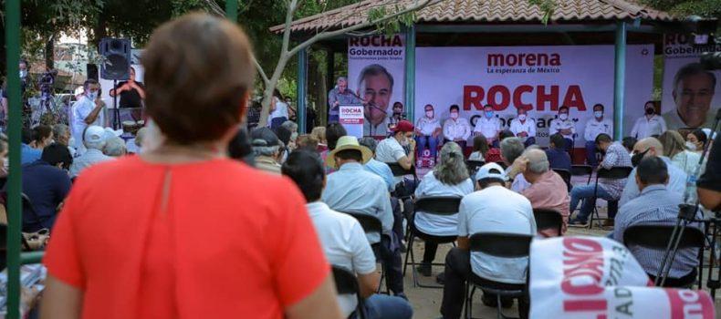 El combate a la inseguridad se realizará atendiendo de las causas que originan la violencia: Rocha Moya.