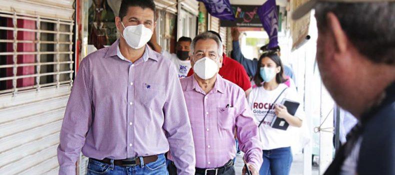 Armando Camacho asegura que las propuestas de Ambrocio  Chávez son las más sólidas.