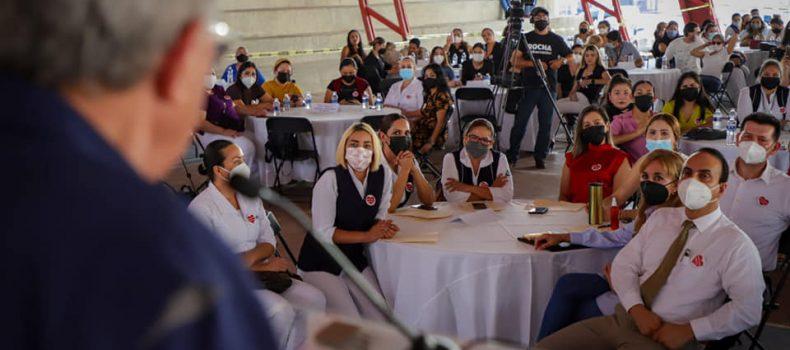 Trabajaremos intensamente para brindarle justicia laboral al personal de salud: Rocha Moya.