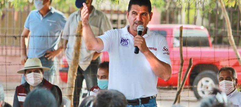 Armando Camacho le apuesta a la prevención en el tema de seguridad.