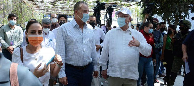 Agradece Gobernador a la UAS por las acciones realizadas para mitigar efectos de la pandemia en el Estado.