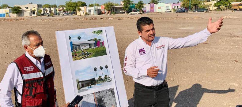 Armando Camacho sigue presentando proyectos incluidos en su Plan Municipal de Desarrollo.