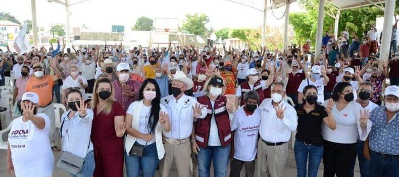 """""""Sinaloa necesita gobiernos honestos y sin corrupción"""", Ambrocio Chávez."""