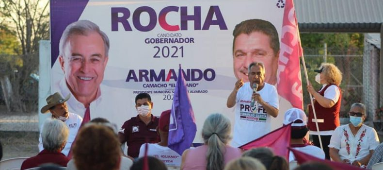 Con el apoyo de La Escalera candidatos de Morena-PAS subirán al triunfo .