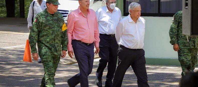 A Sinaloa le irá muy bien con Rocha y el respaldo del presidente de la República: AMLO.