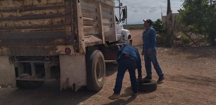 Salud Municipal en Salvador Alvarado lleva el programa de descacharrización a las comunidades.