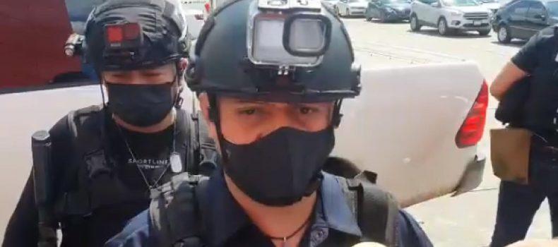 POLICÍA DE SERVICIOS DE PROTECCIÓN FUE ASESINADO EN CULIACÁN AL INTENTAR FRUSTAR UN ASALTO.