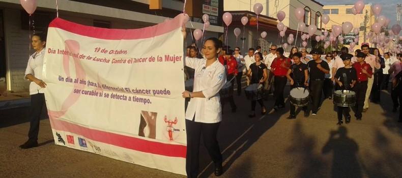 25 mujeres en Guamúchil viven el cáncer de mama