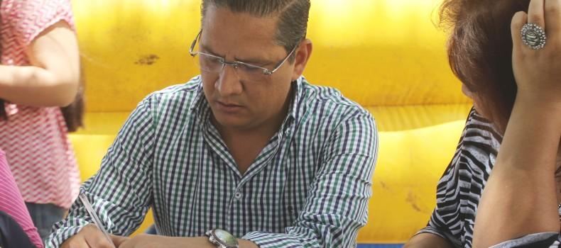 Las obras son de calidad, espero que no sea una cuestión política; Carlo Mario Ortíz Sánchez