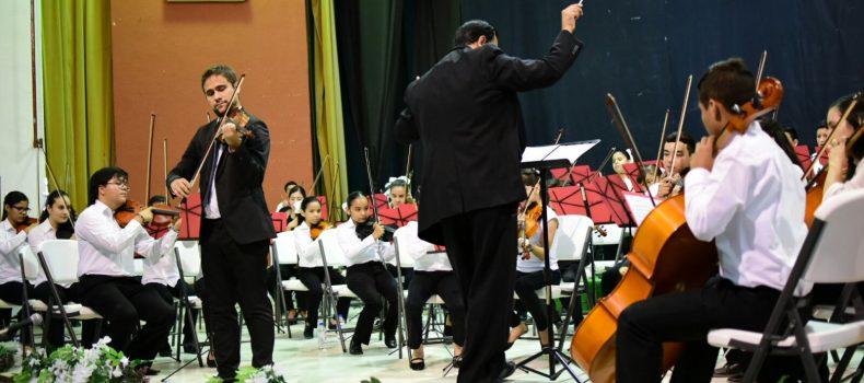 Avanza Salvador Alvarado en cultura con el Segundo Gran Concierto de la Orquesta Sinfónica