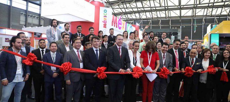 Quirino inaugura Pabellón de México en la Expo SIAL China 2018
