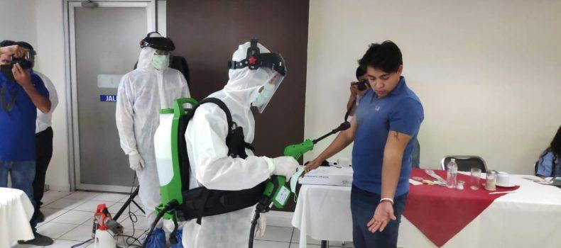 Q-uats, empresa de desinfección, donará programa de sanitización al municipio