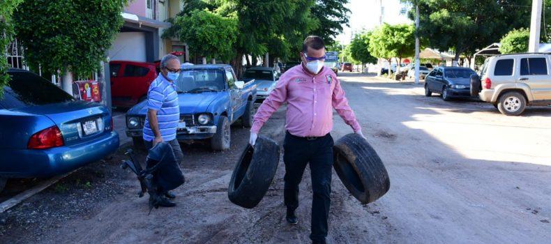Arranca la jornada de descacharrización en Salvador Alvarado