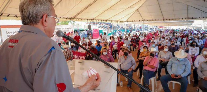 Con el combate a la corrupción generaremos confianza entre los inversionistas, afirma Rocha Moya.