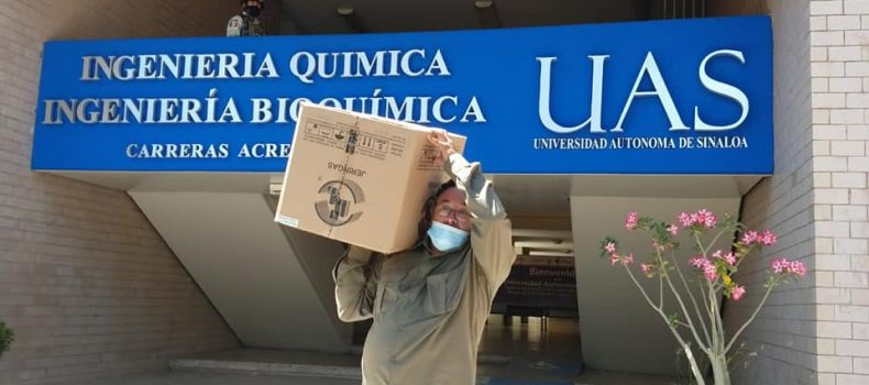 Salen 27 mil 526 vacunas de la UAS con destino a los municipios de Ahome, Elota, Cosalá y El Rosario.