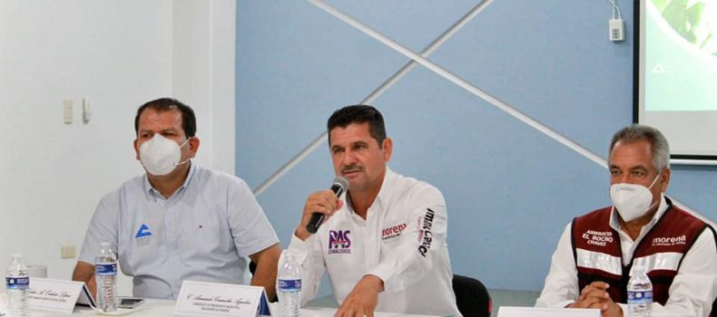 Firman acuerdos candidatos de Morena-PAS con Canaco .